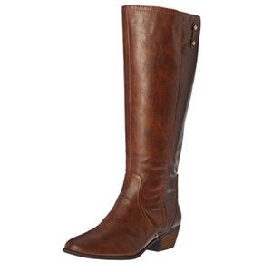 Dr. Scholl's Brilliance Wide Calf Riding Boot 11